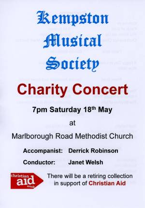 KMS Charity Concert for Christian Aid