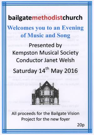 Kempston Musiccal Society - Concert 2016